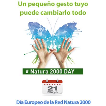 Día europeo de la red natura 2000.  21 DE MAYO REDNATURA2000