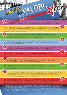 La Carta dei Valori dell'ARCI Comitato di Pisa