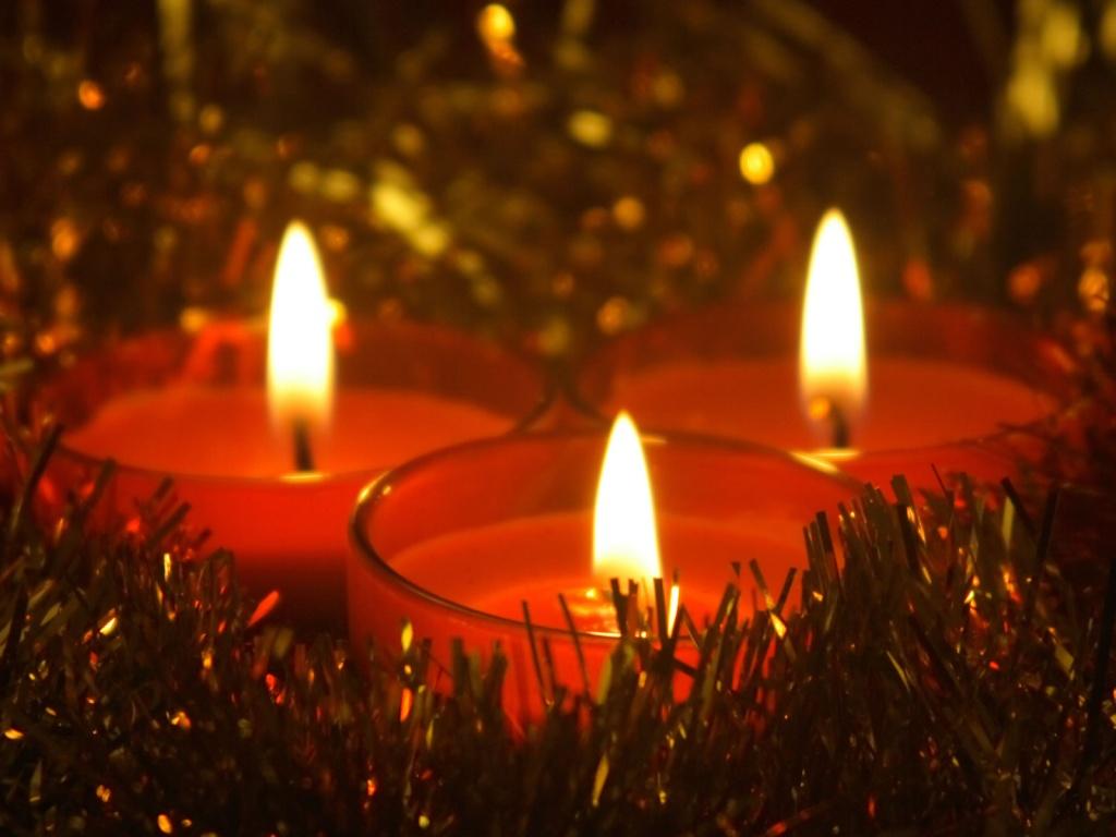 Christmas candle wallpapers christmas candles for home christmas