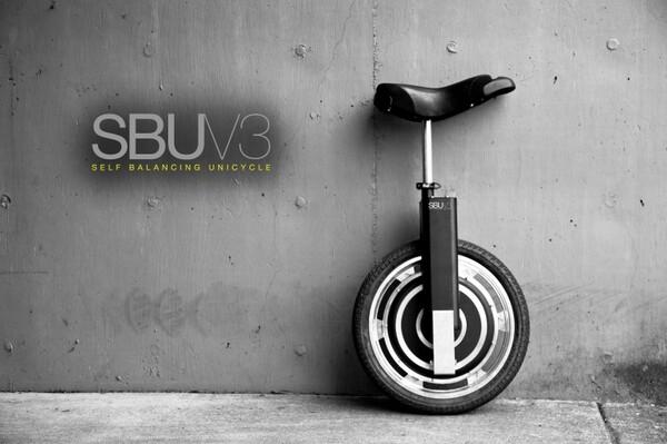 SBU V3 self balancing unicycle