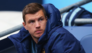 Edin Dzeko will not leave Manchester City, says agent