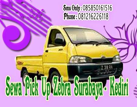 Sewa Pick Up Zebra Surabaya - Kediri