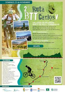 Ruta BTT Carlos V. Valle del Jerte