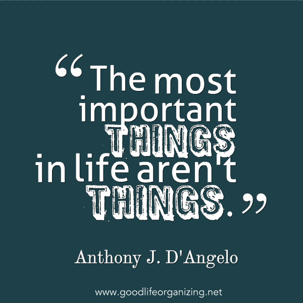 important things in life Being free to do the things you want to do, to be yourself, to go places, to have your own thoughts and feelings, and to have a say in how your life goes, is not just important in a relationship .