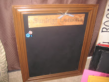 sold- XL magnetic chalkboard