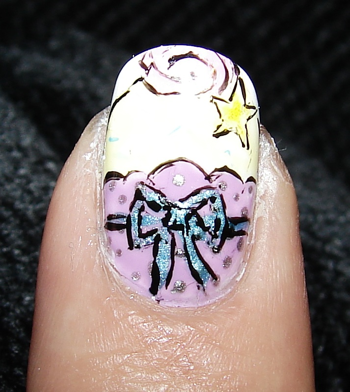 cupcake nail art idea-8