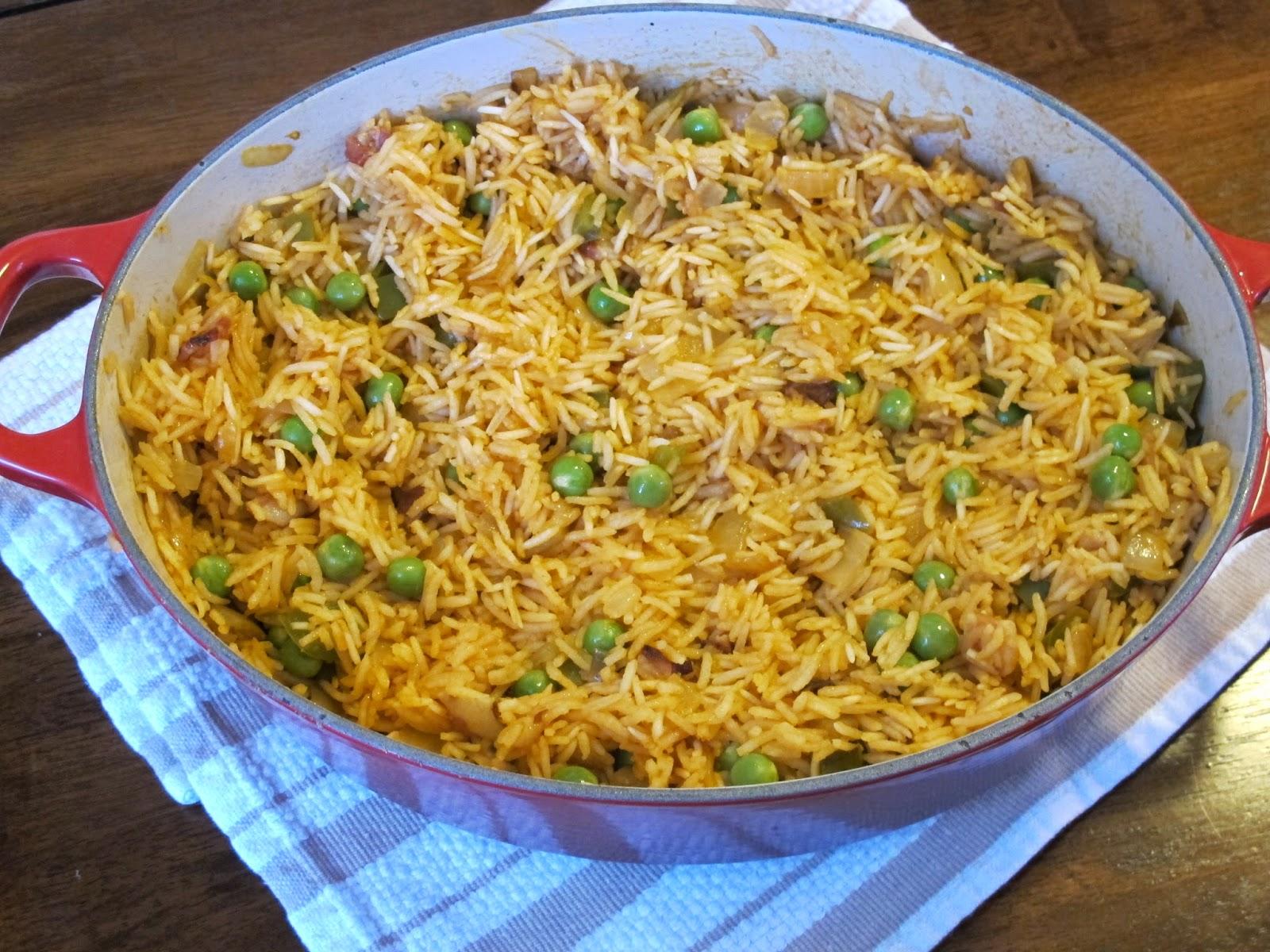 Bahamian Peas and Rice