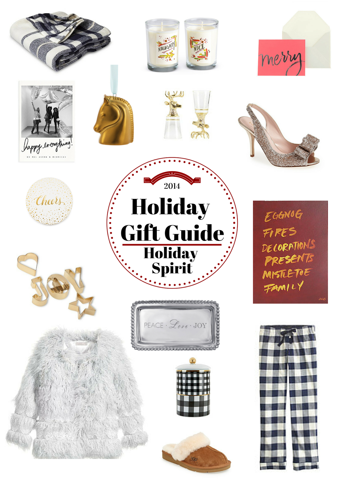 Holiday Gift Guide Holiday Spirit