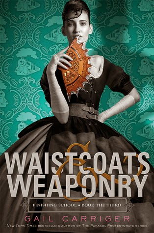 https://www.goodreads.com/book/show/17449519-waistcoats-weaponry