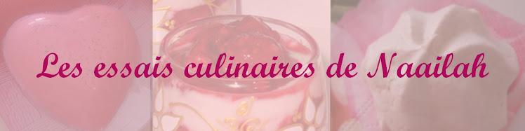 Les  essais culinaires de Naailah