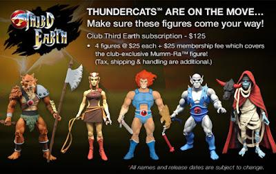 Matty Mattel Thundercats Figures Mumm-Ra First Look Third Earth Subscriptions
