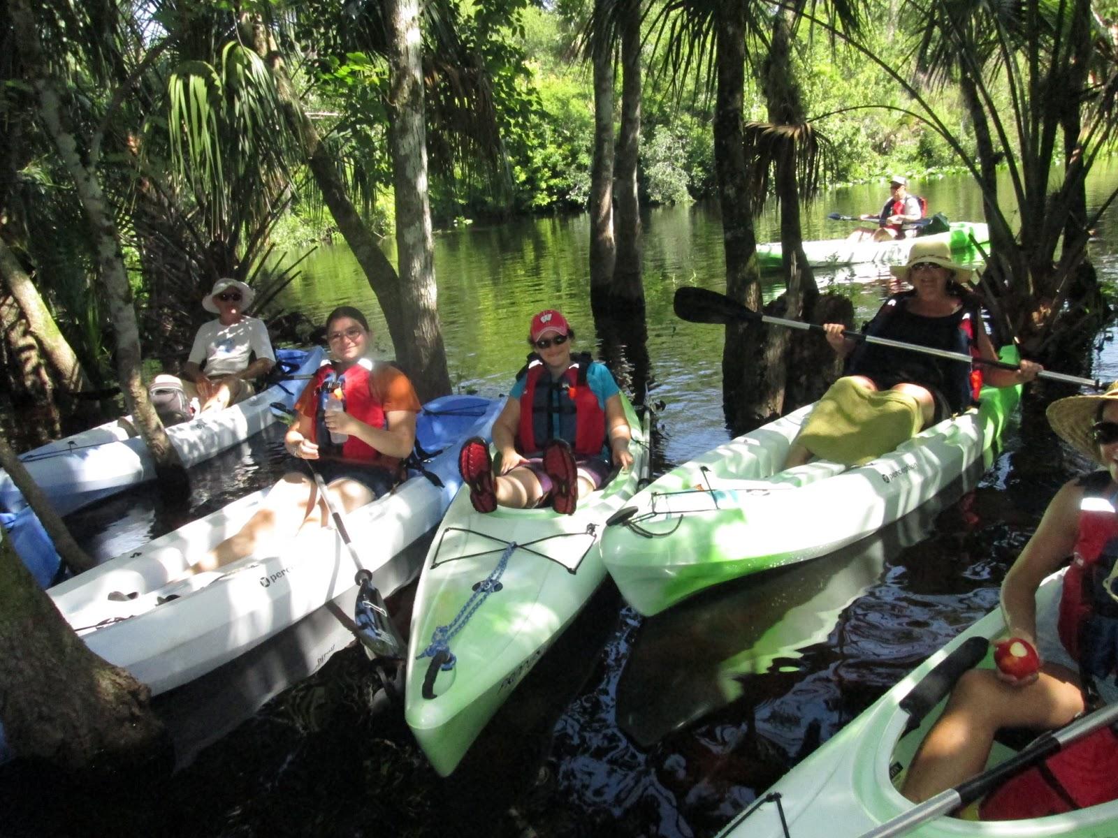Wekiva River Monkeys Paddling The Wekiva River June