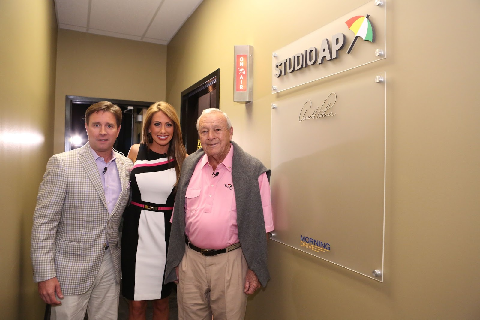 Golf Channel Morning Drive Cast >> ARMCHAIR GOLF BLOG: The King and His New Golf Channel Studio
