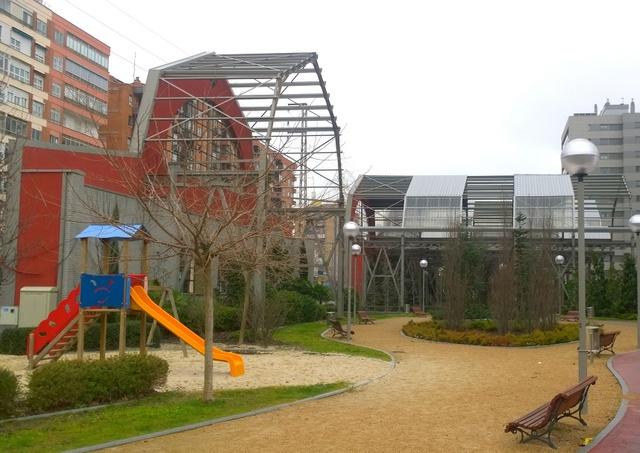 edificio industrial parque