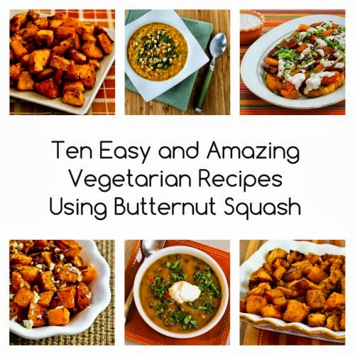 Ten Easy and Amazing Vegetarian Recipes Using Butternut Squash