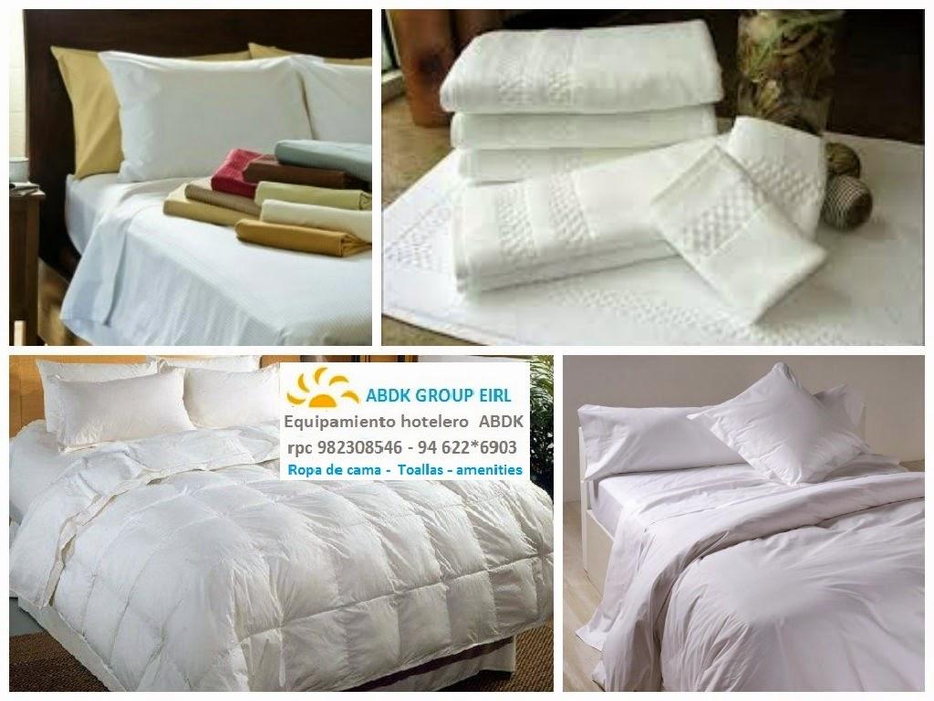Fabrica edredones ropa de cama toallas todo para - Amenities en el bano ...
