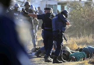 Matanza en Sudáfrica