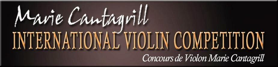 Concours International de Violon Marie Cantagrill