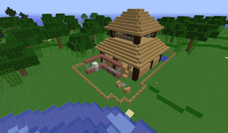 Minecraft casas - Fotos de casas del minecraft ...