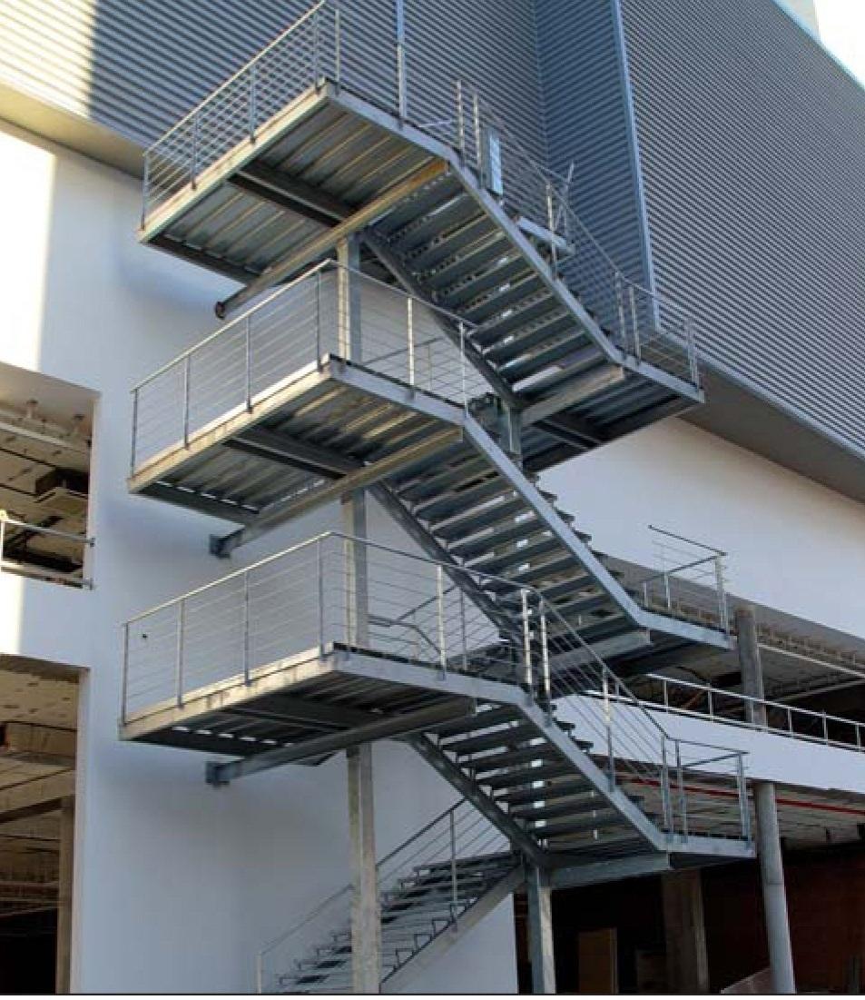Cerrajeria sotelo y automatismos escaleras metalicas - Escaleras para exterior ...