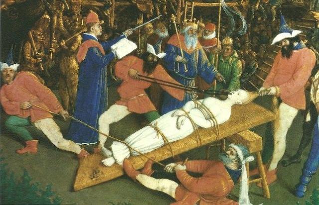 Το μαρτύριο της Αγίας Απολλωνίας