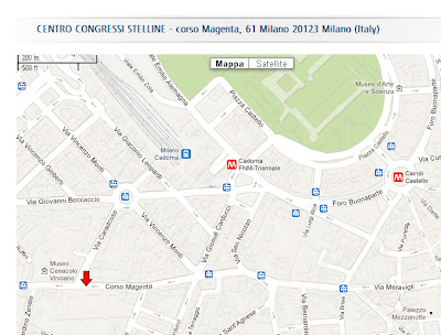 new location Vintage Workshop Milano 2013, Palazzo Stelline