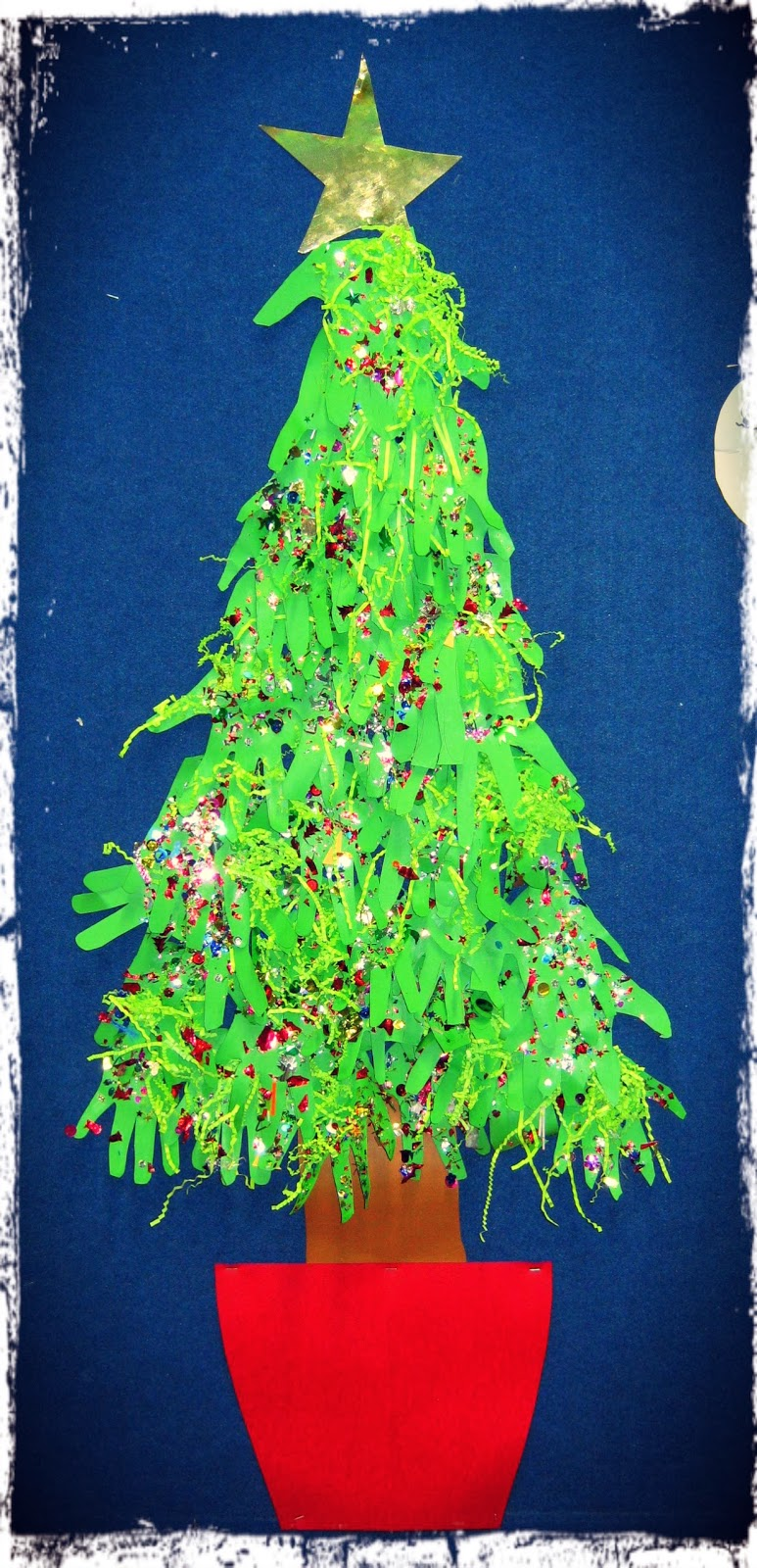 christmas tree handprint poem - photo #31