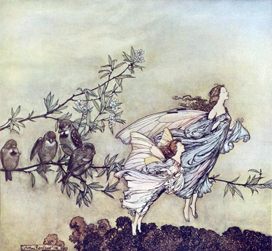 arthur rackham fairy
