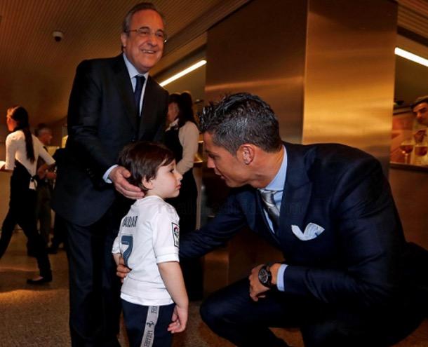 Impian anak yatim Lubnan untuk bertemu Cristiano Ronaldo tertunai