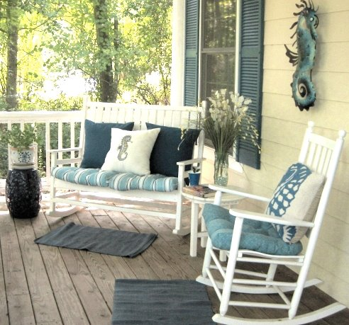 porch decor idea - Porch Decor