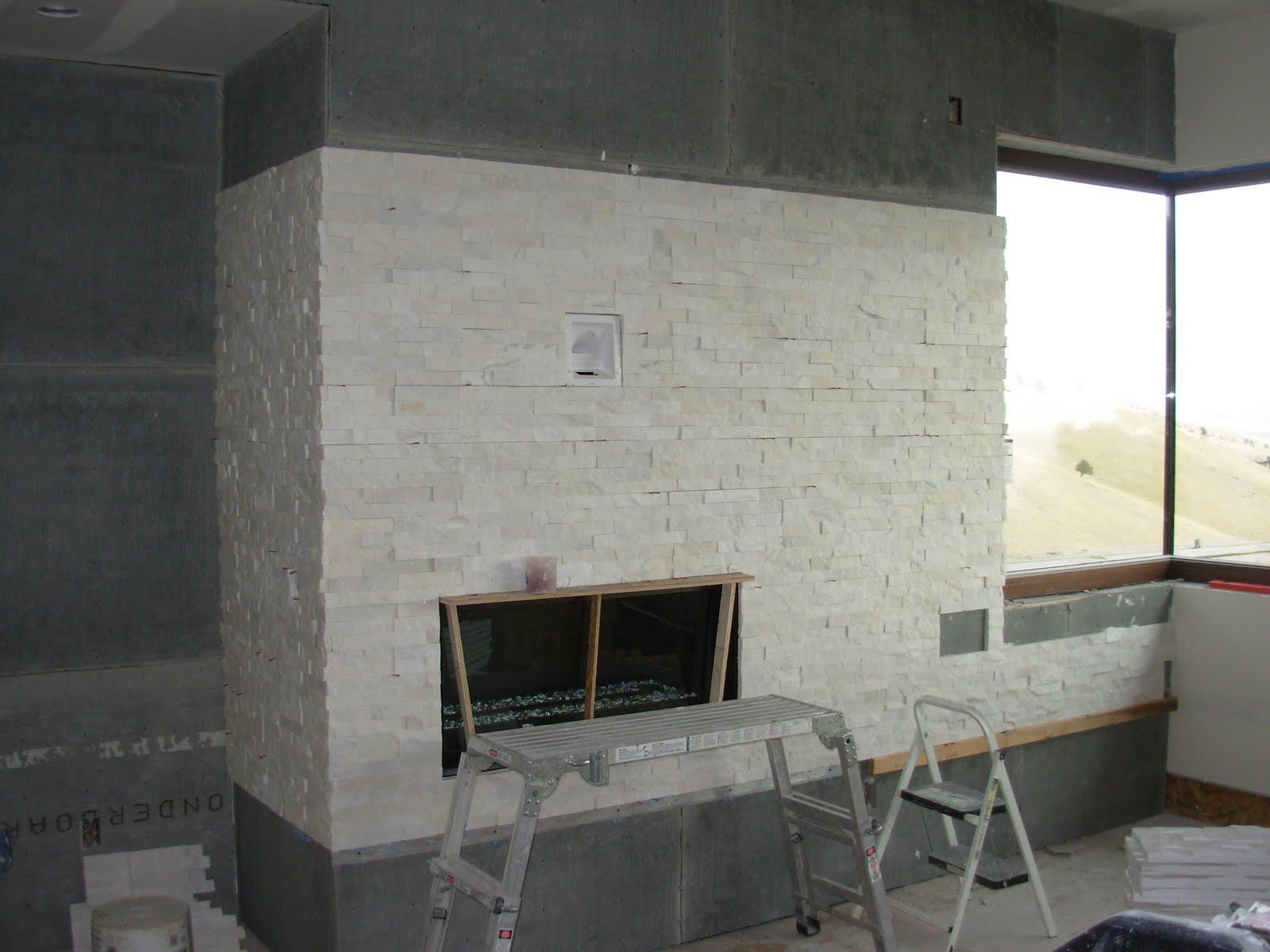 Quartz Fireplace Surround : Arrowleaf