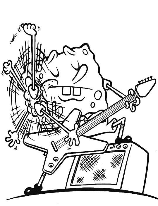 Todo Bob Esponja y Simpsons ♥: Imagenes para colorear