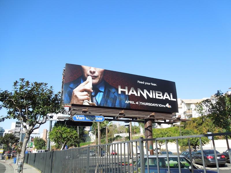 Hannibal TV billboard