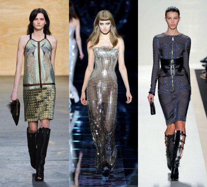 Стиль милитари в одежде осенне-зимнего сезона 2012