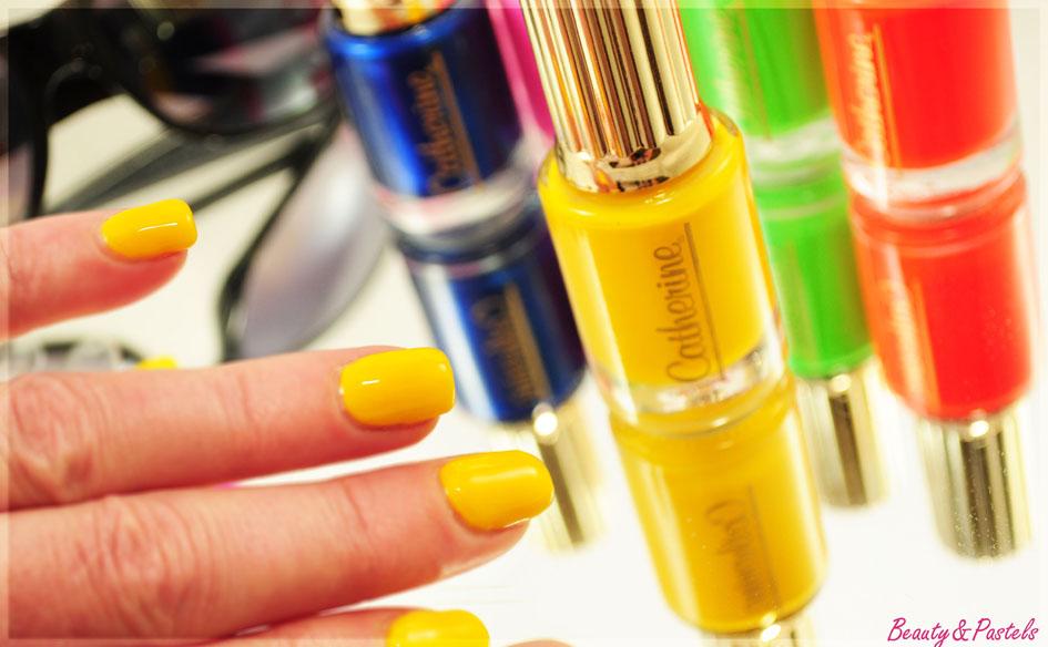 Nagellack-gelb