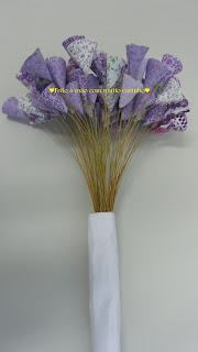 Flor de tecido.