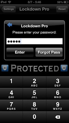 Lock iPhone Apps