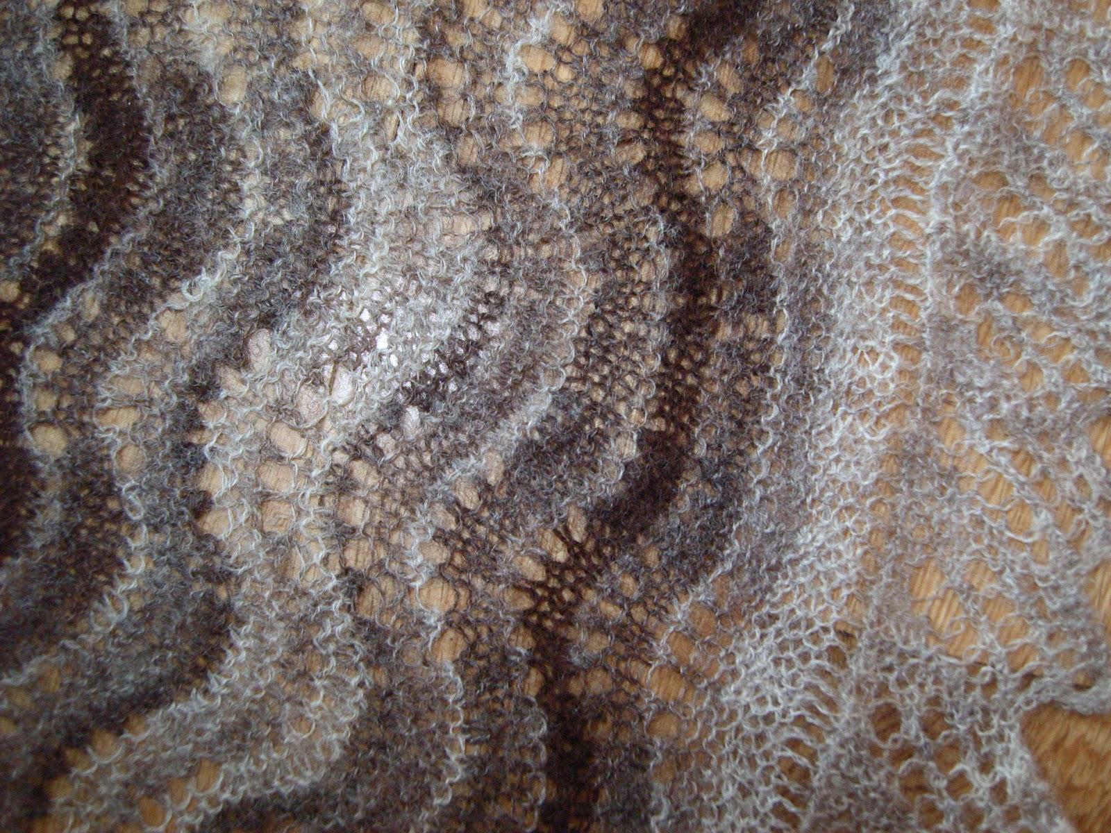 Knitting Holidays Shetland : Shetland handspun new baby shawl