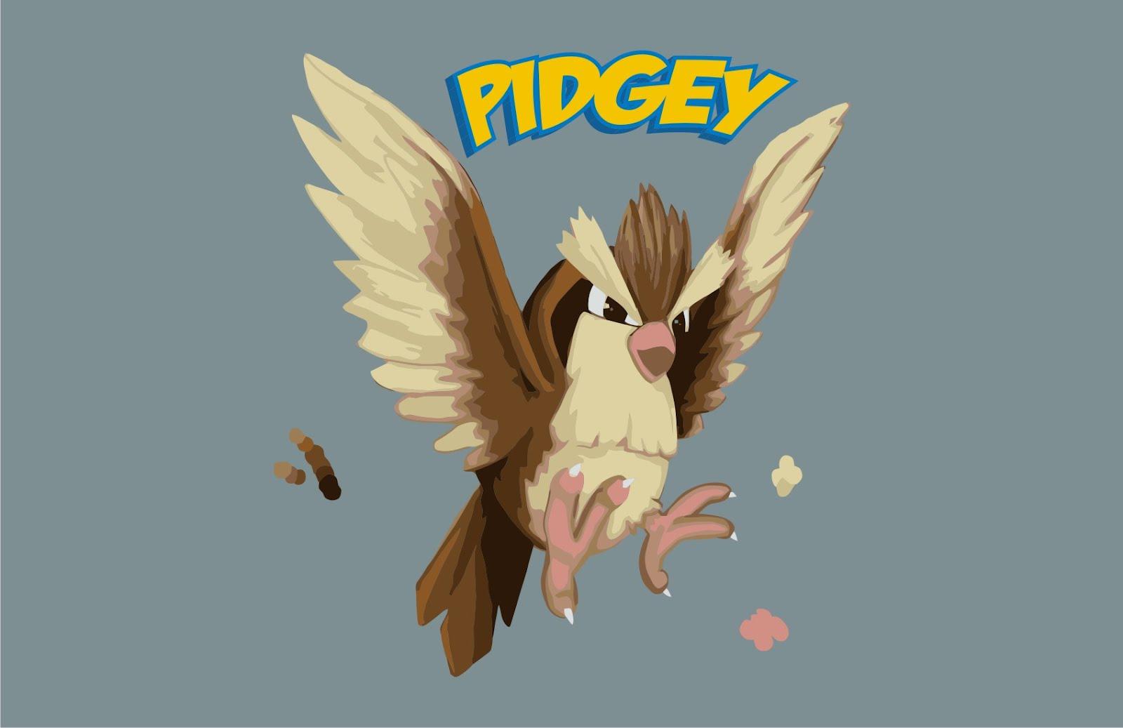 pokemon pokemon pidgey vector game