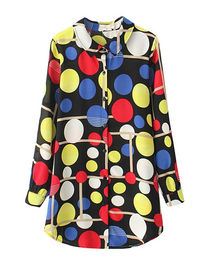 Koleksi terbaru baju polkadot wanita trend masa kini