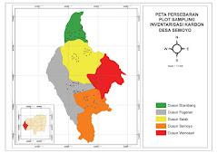 Peta Sebaran Sampling Inventarisasi Karbon
