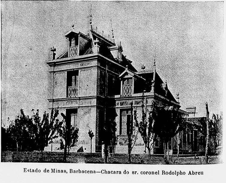 CHACARA DO DR RODOLPHO DE ABREU