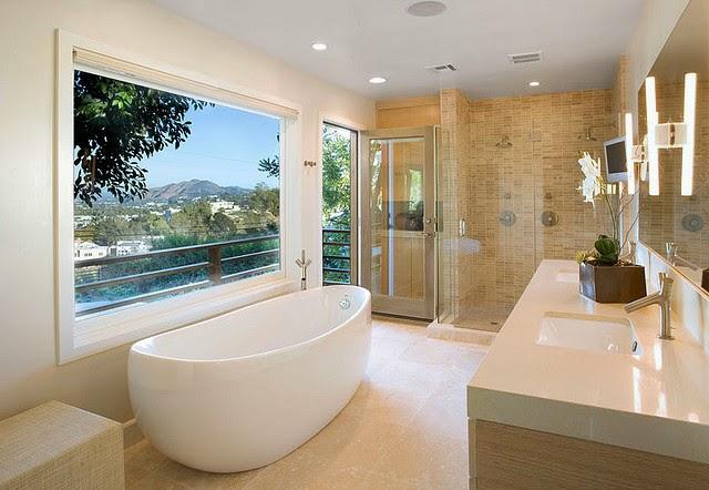 Baño Segun Feng Shui:En el diseño de un baño Feng Shui se aconseja dividir la zona de