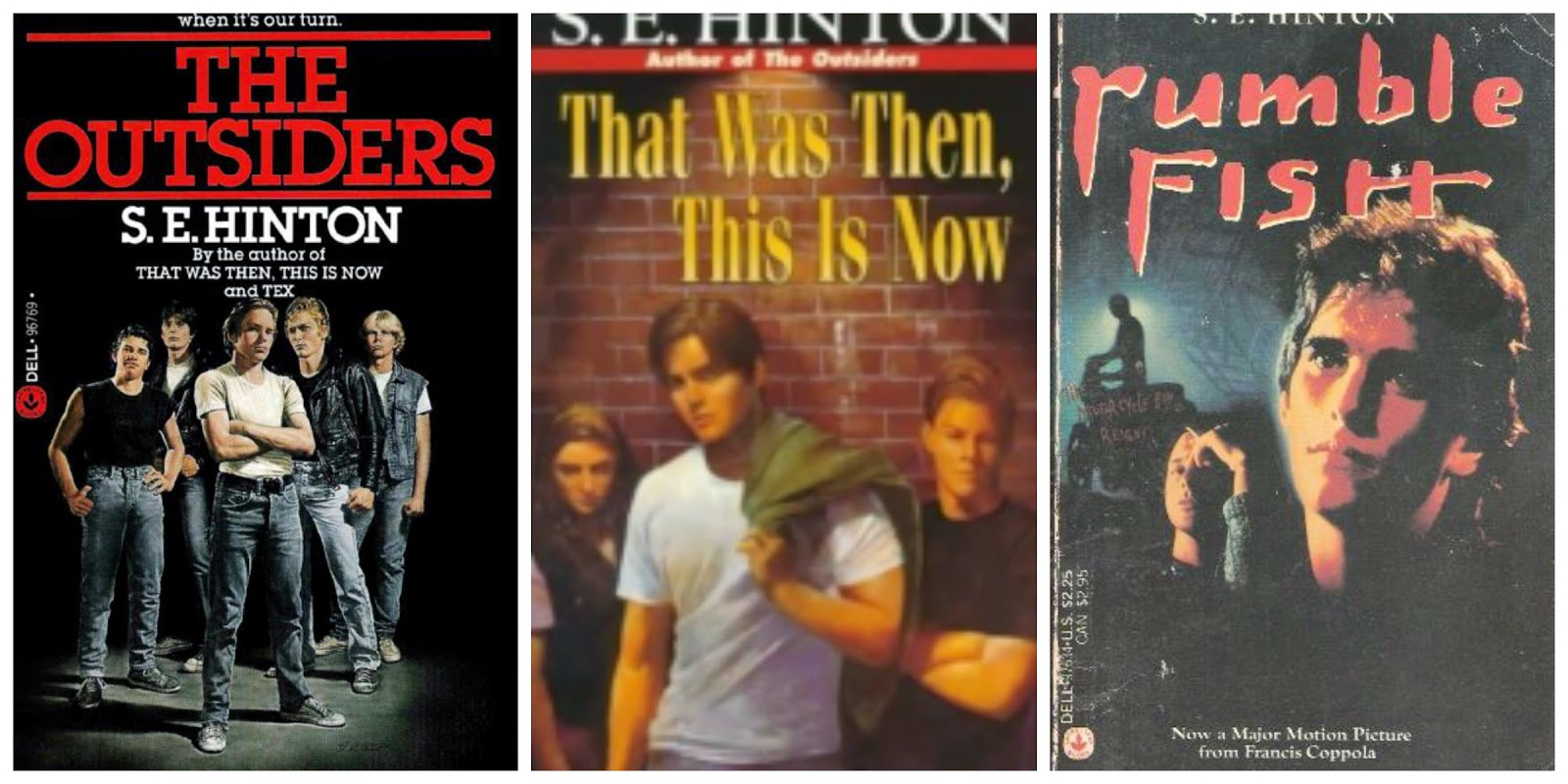 an analysis of the outsiders by s e hinton The east side where ponyboy and the whole gang live is labeled by the socs where all the greaser boys live for example,  its like the term external conflict: man vs nature external conflict: man vs man internal conflict: man vs himself conflict: the outsiders by se hinton conflict analysis by.