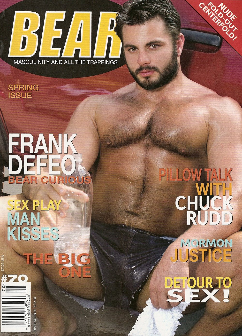 bear magazine 019 Note: those of you who insist that Jake is gay are NUTS. Seriously?
