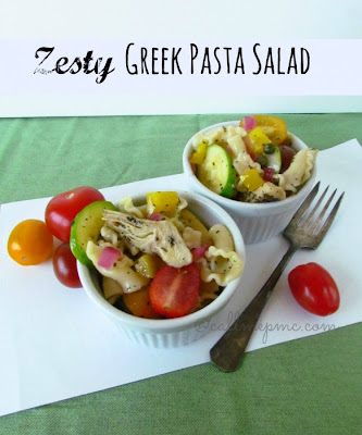 Call Me PMc: Zesty Greek Pasta Salad