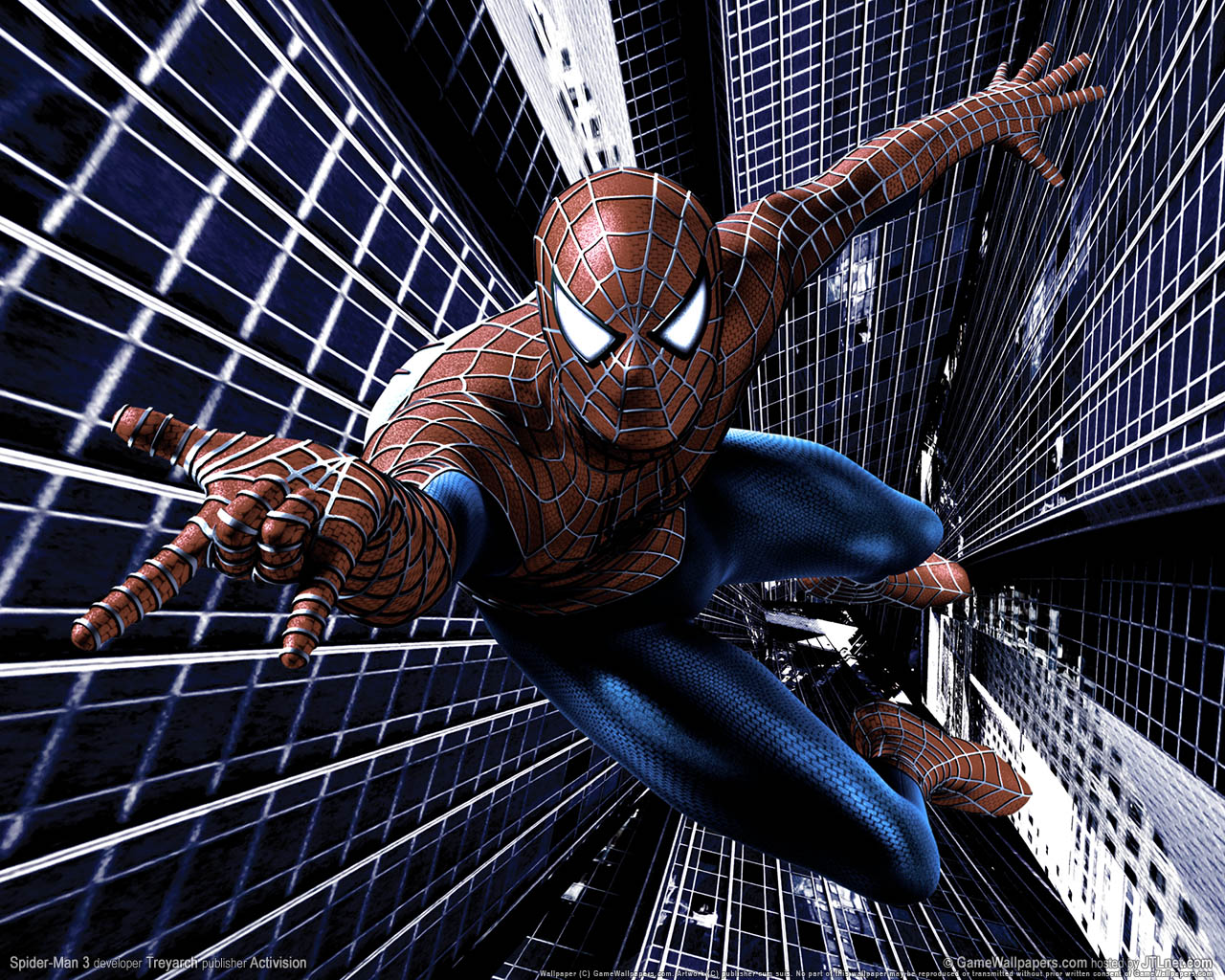 amazing wallpapers spider man 3 wallpapers spider man. Black Bedroom Furniture Sets. Home Design Ideas