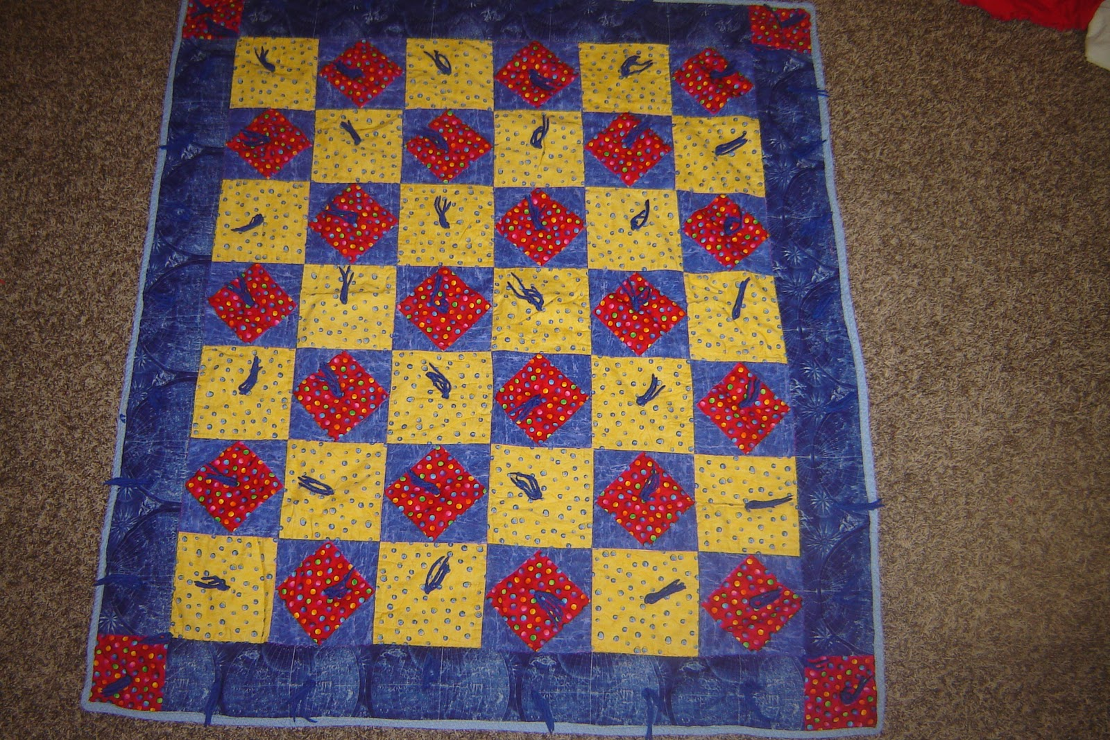 Modern tradition quilts tips for domestic machine quilters its okay to just tie it use tying instead of pin basting then go back and stitch in the ditch using a walking foot it works really well ccuart Image collections