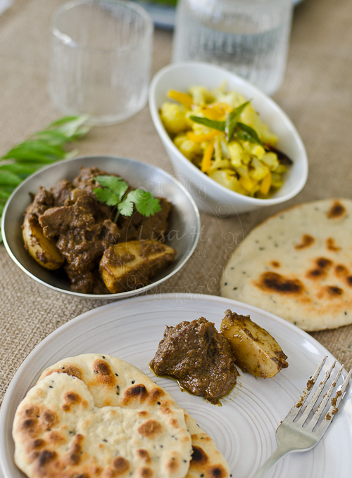 Spicy Goan Beef Curry recipe. Best serve with Naan bread.