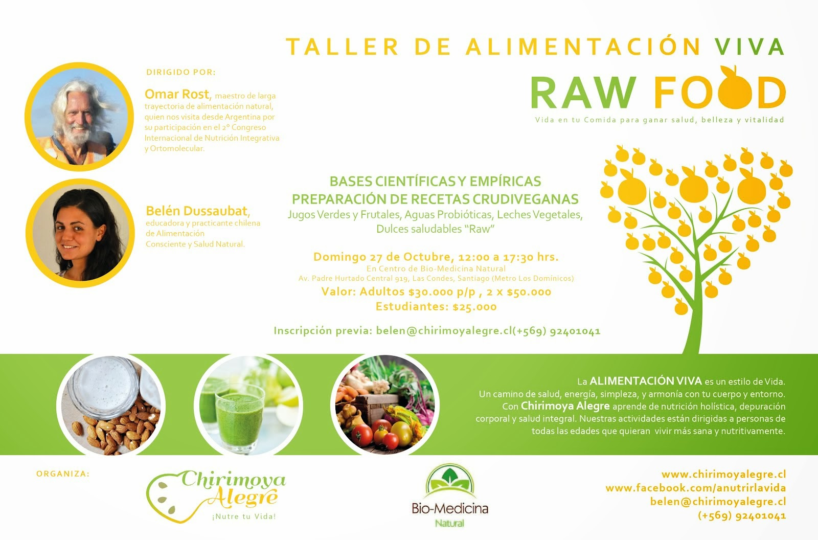 Curso de Raw Food con Omar Rost